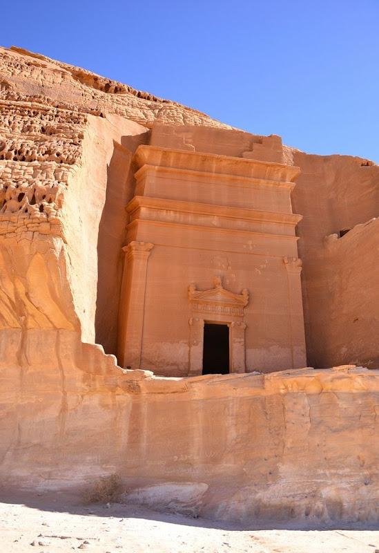 Pre-Islamic Civilization in Madain Saleh in Saudi Arabia