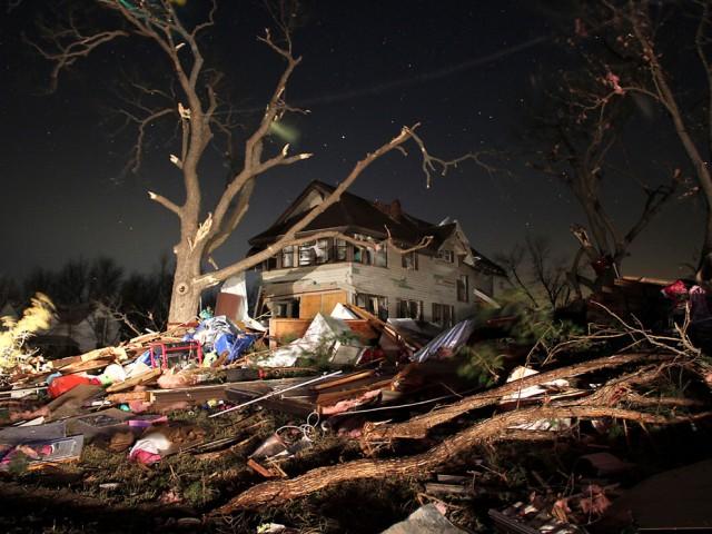 The Harveyville Kansas tornado