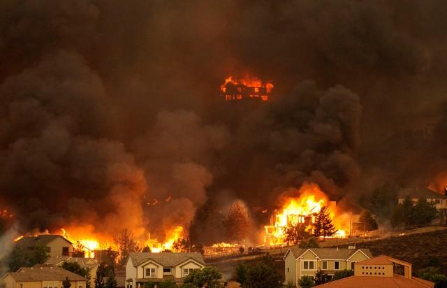 The Waldo Canyon fire