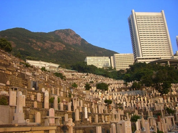 Chinese Christian Cemetery in Pok Fu Lam Hong Kong
