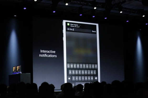 Interactive Notifications