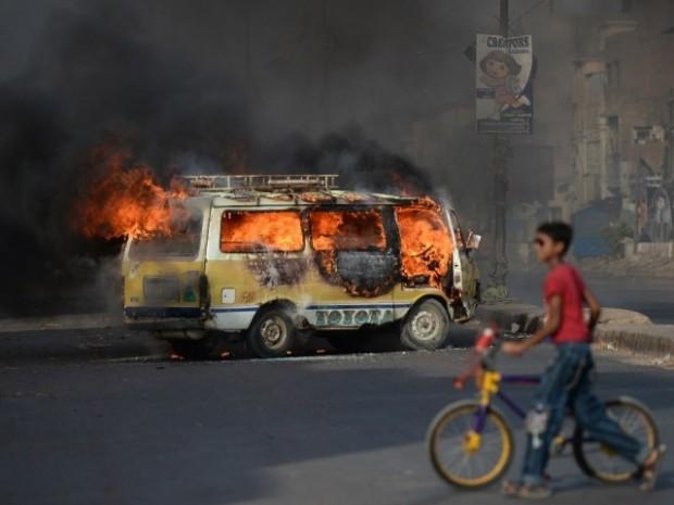 Karachi Bus Fine