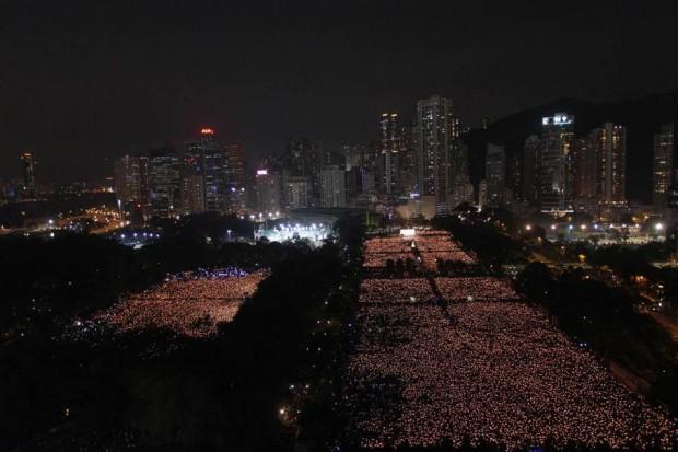 Tiananmen Anniversary - Hong Kong