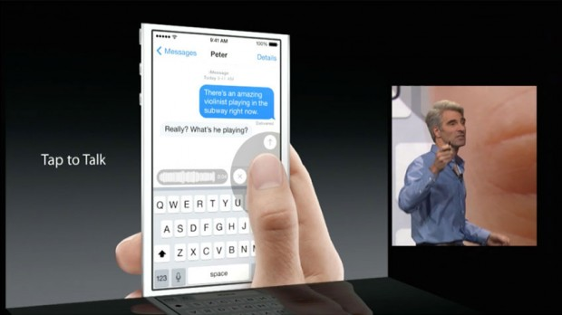 iMessage voice and video