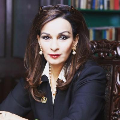 Vice President PPP Senator Sherry Rehman