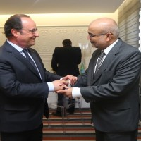President Francois Hollande of France, who is the President of the local Council invited the Chairman of Martin Dow, Mr. Jawed Akhai