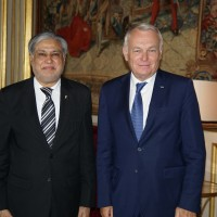 Finance Minister's meeting with French Foreign Minister