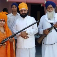 Gun-loving India 'god-woman' who shot wedding guests