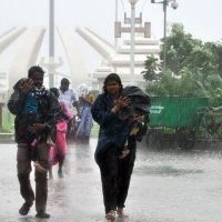 Cyclone kills 10 in south India's tech hub Chennai