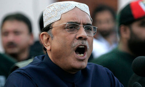 Zardari to land in Karachi tomorrow afternoon