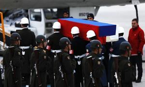 Russia lays to rest murdered Turkey envoy with full honours
