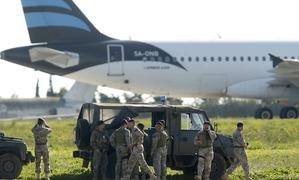 Hijacked Afriqiyah Airways plane lands in Malta