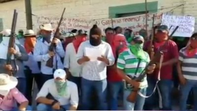 Mexico villagers free gang boss's mother in 'kidnap deal'