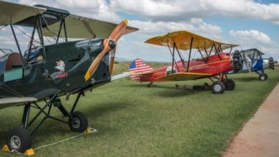 Vintage aircraft complete adventure-filled Africa rally