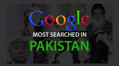Google's 'Year in Pakistan Search' reveals interesting trend