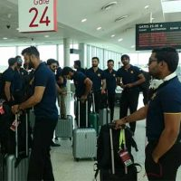 Pakistan cricket team arrive in Melbourne for second ODI