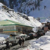 Lowari tunnel cleared for traffic after heavy snowfall