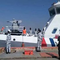 Two maritime patrol vessels arrive at Gwadar Port from China