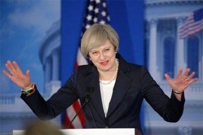 British PM woos US lawmakers ahead of Trump meeting