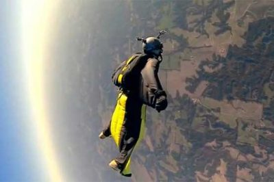 Canadian wingsuit jumper dies in China: report