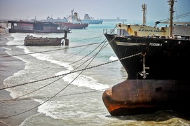 Ship-breaking activities at Gadani suspended