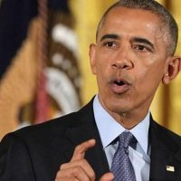 Obama warns Trump, tells supporters 'we'll be okay'