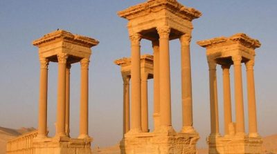 Daesh destroys ancient Roman monument in Syria's Palmyra