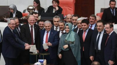 Turkish parliament backs bill boosting Erdogan powers
