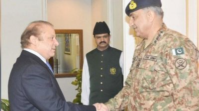 COAS Gen Bajwa and PM meet to discuss national, border security