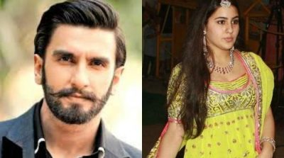 Sara Ali Khan strikes a pose with Ranveer Singh as news of her debut goes viral