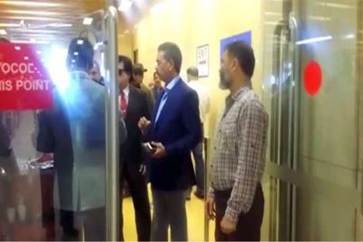 Saleem Shahzad taken into custody at Karachi airport