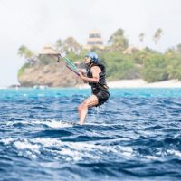 Obama kiteboards in Caribbean with billionaire Richard Branson