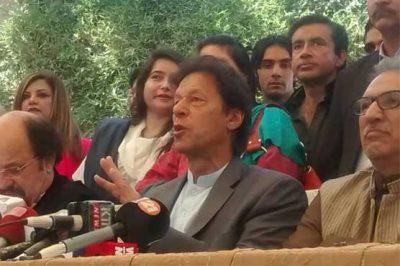 PM on ribbon-cutting spree since start of Panama case hearing: Imran