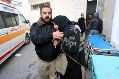 Israeli bombing kills two Palestinians in Gaza, its health ministry says