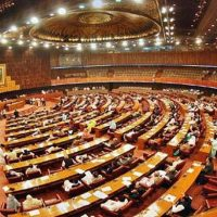 NA opposition denied permission to table resolution against Trump administration