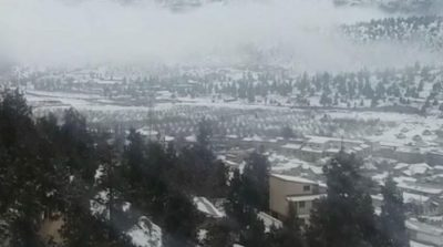 Quetta receives snowfall, rain in other cities