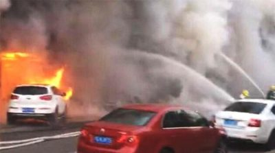 Eighteen killed in massage parlour fire in China