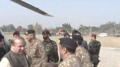 PM Nawaz visits Wah