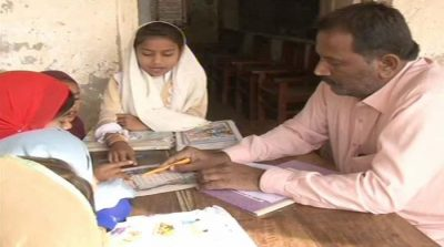 Gatekeeper forced to teach at school in Hyderabad
