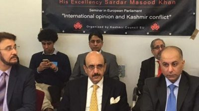 AJK President calls on UNSC to hold urgent debate on Kashmir issue