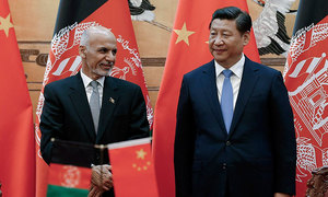 AFGHANISTAN, HOUSING, PROJECT, UNDERLINES, CHINA'S, GROWING, ROLE