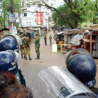Sylhet, blasts, kill, four, amid, Bangladesh, militant, raid