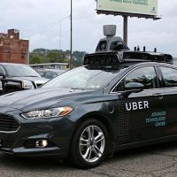 Uber, grounds, self-driving, cars, after, accident
