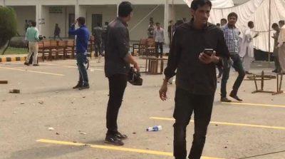 5 ,students, injured, in, Punjab, University, clash