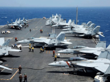 North, Korea, warns, of, 'merciless' strikes, as, US, carrier, joins, South, Korea, drills
