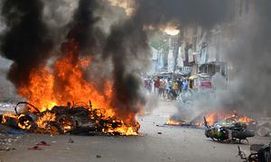 Communal, strife, in, home, state, of, India's, Modi, kills, one, 14, hurt