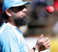 Saqlain Mushtaq, hired, as, spin, coach, by, England, Cricket Board