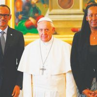 Pope, seeks, forgiveness, for, Church, role, in, Rwanda, genocide