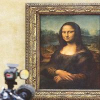 MONA, LISA'S, SMILE, DECODED, SCIENCE, SAYS, SHE, IS, HAPPY