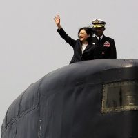 Taiwan, launches, submarine, project, in, face, of, China, threat